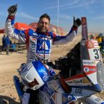 Paul Spierings finisht als vijfentwintigste in Dakar Rally