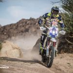 Paul Spierings haalt voor de derde keer de finish in de Dakar Rally